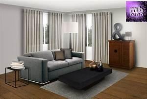 Deco Salon Moderne : salon moderne et ancien ~ Teatrodelosmanantiales.com Idées de Décoration