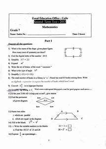 Grade 2 Term Test Papers In Sinhala