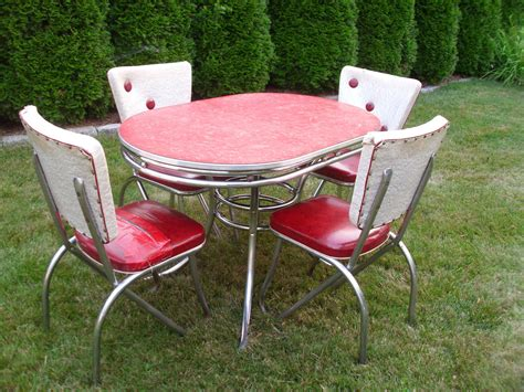 vintage 1950 s kitchen table chairs 1950s kitchen