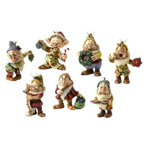 disney traditions a9039 seven dwarfs christmas tree