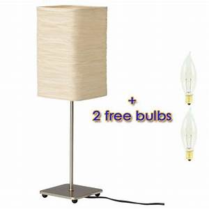 ikea magnarp table lamp with 2 free bulbs With magnarp table lamp youtube