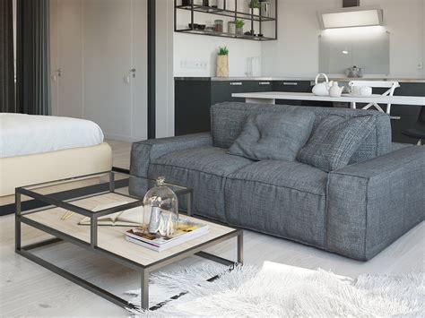 Apartment Furniture by Studio Apartment Interior Design With Decorating
