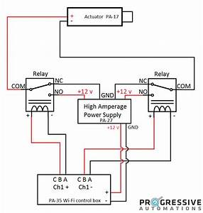 Warner Linear Actuator Wiring Diagram Gallery