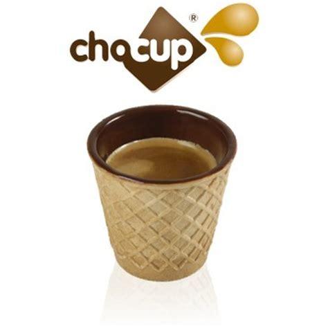Bicchieri Di Cioccolato by Chocup Mini Bicchiere Wafer E Cioccolato 30 Ml 5 Pezzi