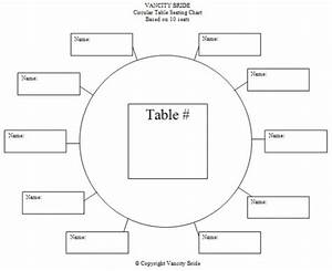 Free individual table seating charts free wedding for Table seating plan template free download