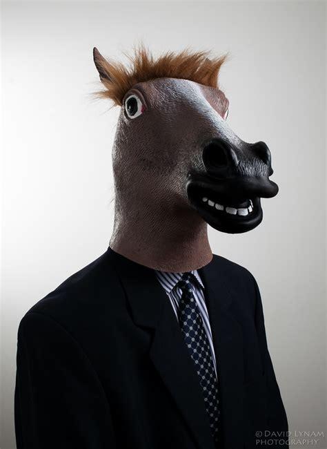 scary horse