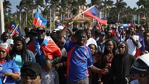 Haitians Protest Trump Over 'S--thole' Remark in Florida ...