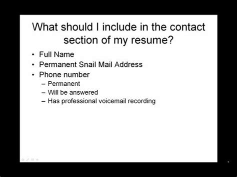 What Should I Include In My Resume For Graduate School by Make Resume Of My Own What Should I Include In The Contact Section Of My Resume On Vimeo