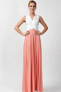 2016 new arrival maxi infinity bridesmaid dress two tone [tt15]  $73 80  Infinity Dress
