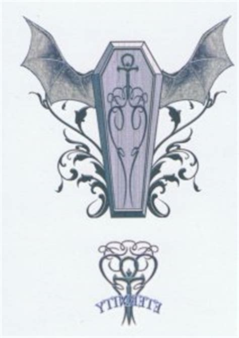 incredible coffin tattoos designs