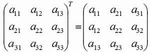 Transponierte Matrix Berechnen : matrizenrechnung rechenregeln f r matrizen inverse einer matrix determinante adjunkte einer ~ Themetempest.com Abrechnung