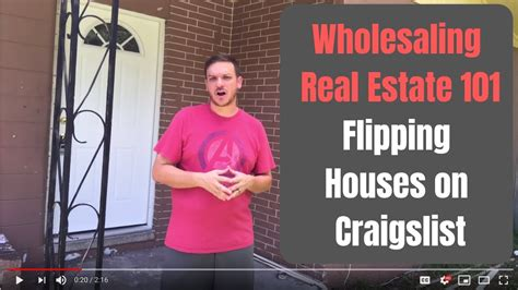 Wholesaling Houses 101 - wholesaling real estate 101 flipping houses on