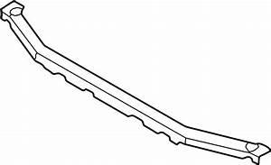 Mazda 626 Radiator Support Tie Bar  2 0 Liter  2 5 Liter