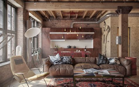 lets stay cool industrial loft design