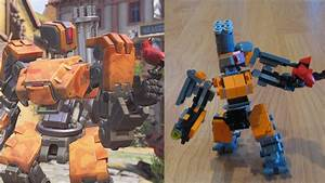 Comparing Lego Bastion To Its In Game Counterpart