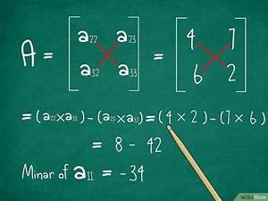 Determinante Berechnen 2x2 : come calcolare il determinante di una matrice 3 x 3 ~ Themetempest.com Abrechnung