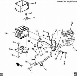 2004 Pontiac Aztek Fuel Pump Diagram