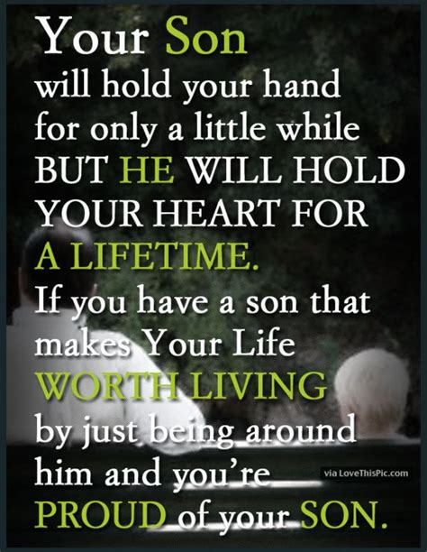 10 Best Mother And Son Quotes Son Quotes Blessings And Sons
