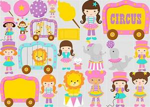 Girl Circus Clipart Oh My Fiesta! in english