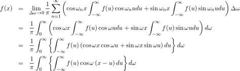 デルタ 関数 フーリエ 変換