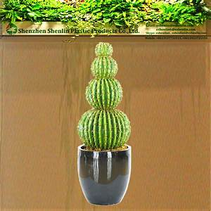 Grand Pot Plante : grand cactus plantes d 39 int rieur artificielle en plein ~ Premium-room.com Idées de Décoration