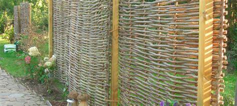 Sichtschutz Garten Robinie by Sichtschutz Natur Habisreutinger