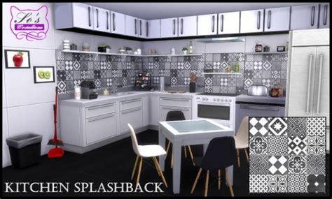 kitchen splashback  sophie stiquet  les sims sims