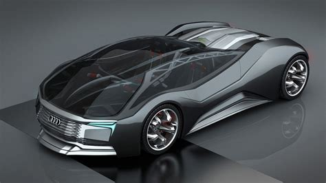 Nuclear Fusion Cars by Audi Inspired F Design Concept Is A Nuclear Powered
