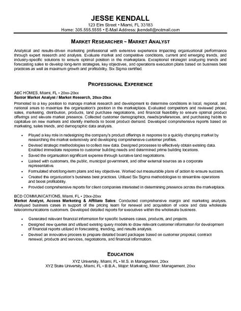 Marketing Analyst Resume Sle by Marketing Analyst Resume Printable Planner Template