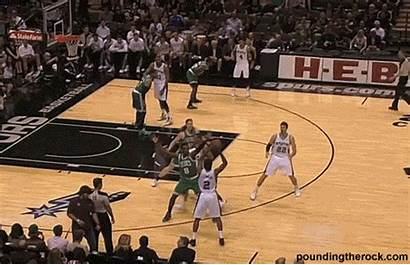 Perfect Going Duncan Offense Pounding Break Inside