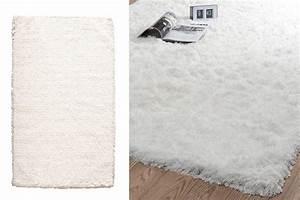 Tapis Blanc Poil Long : 22 tapis maisons du monde pour une d co cosy deco cool ~ Teatrodelosmanantiales.com Idées de Décoration