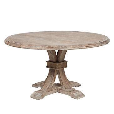 circle farmhouse table z gallerie archer dining table 2210