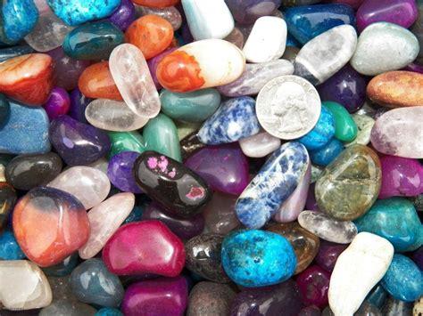 1000 carat lots of size 5 tumbled polished gemstones a free faceted gemstone ebay