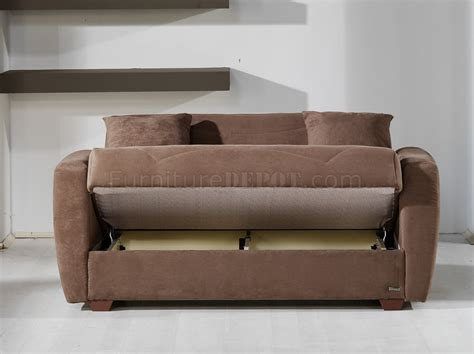 Living Room Sleeper Sofa by Truffle Microfiber Living Room With Storage