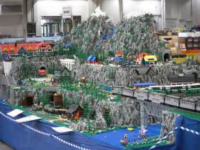 LEGO City Train Layout