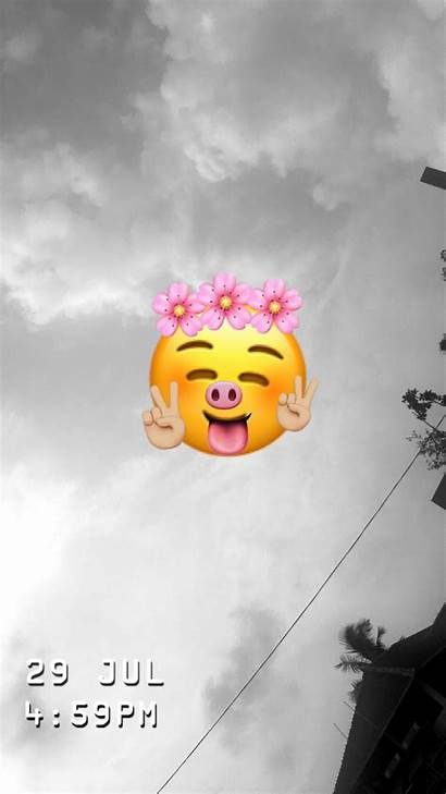 Emoji Iphone Phone Screen Snapchat Wallpapers