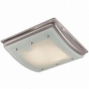 Utilitech sone cfm brushed nickel bathroom