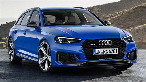 Audi Rs 4 2017 by 2018 Audi Rs4 Avant Revealed With 450 Hp 2 9 Litre V6