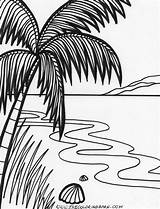 Coloring Sunset Pages Beach Island Drawing Printable Adult Colouring Tropical Sunsets Tree Party Ocean Sheets Islands Getdrawings Getcolorings Birthday Kid sketch template