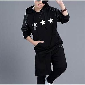 Black fashion school play boys girls hip hop jazz performance competition dance outfits costumes ...