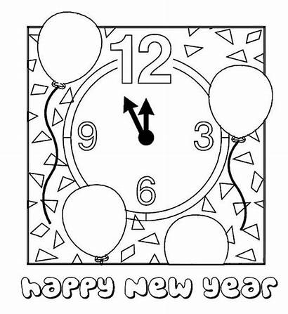 Coloring Pages Countdown Minute Last Preparing Happy