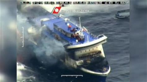 Cruise Ship Sinking 2015 by Costa Concordia At Abc News Archive At