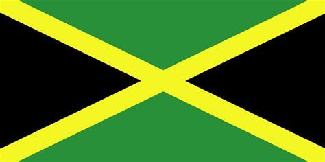 flag  jamaica  clipart