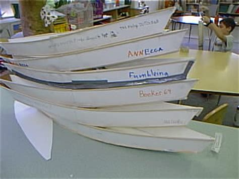 Creative Cardboard Boat Names by Building The Boats