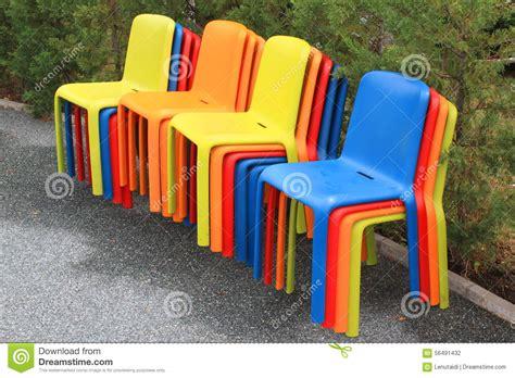 Sgabelli Colorati by Sgabelli Colorati Fotografia Stock Immagine Di Vicolo
