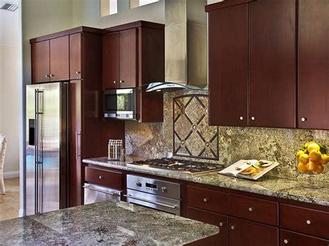 vibrant traditional kitchen designs
