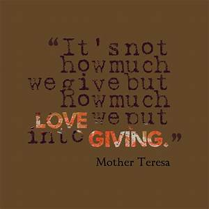 Mother Teresa Volunteer Quotes. QuotesGram