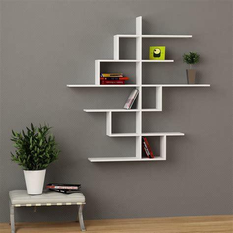 librerie a muro design durban libreria a muro design moderno in legno 150 x 150 cm