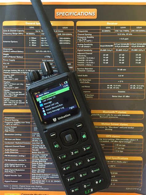 China VHF P25 Handheld Radio, P25 Radio with GPS /Bulid in ...