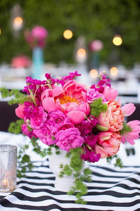 Best 25 Pink Flower Centerpieces Ideas On Pinterest